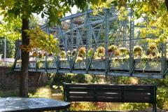 Simsbury CT Drake Hill Flower Bridge