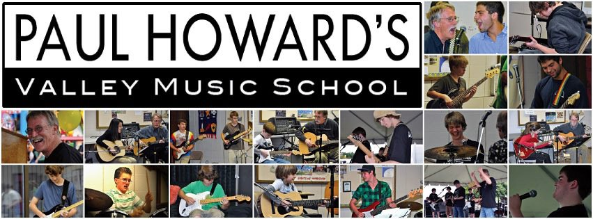 Guitar, Piano, Drum Lessons at Paul Howard's Valley Music School Avon CT