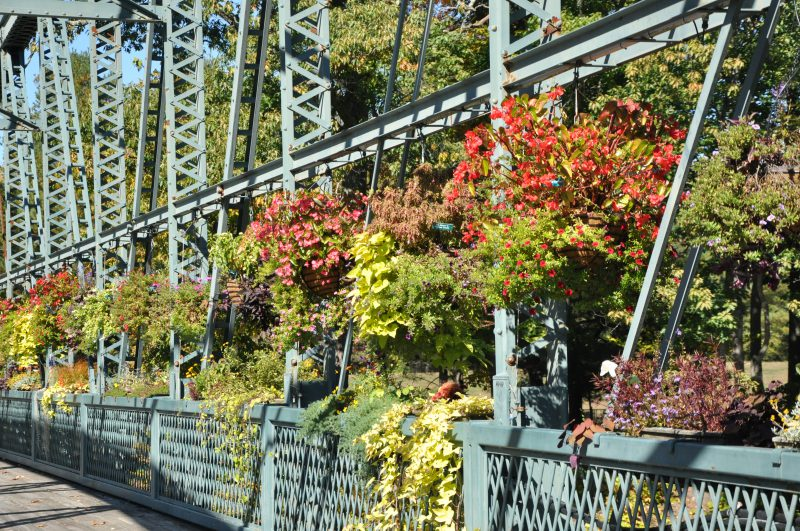 Flower Bridge, Simsbury CT