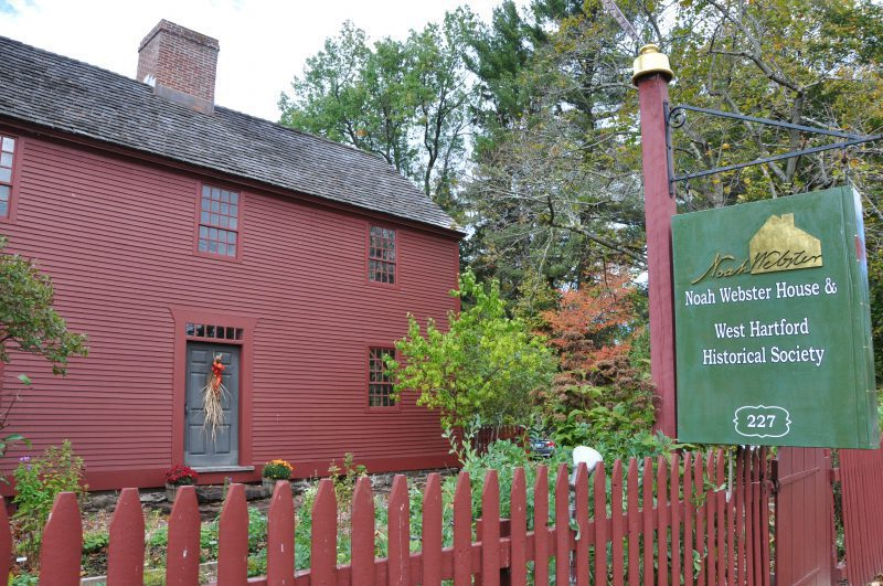 Noah Webster House, West Hartford, historical sites west hartford, things to do west hartford, west hartford realtor, real estate