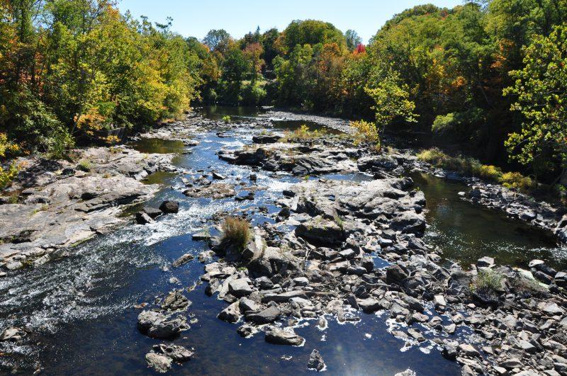 Hiking fishing kayaking picnicing Farmington River Canton CT
