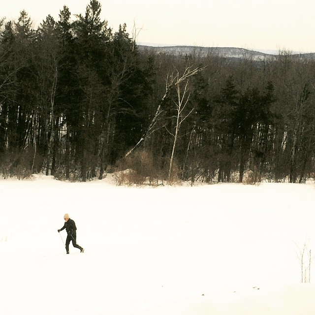 Hiking cross country ski simsbury ct