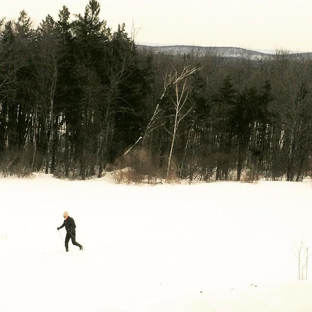 Cross Country Skiing, Simsbury CT
