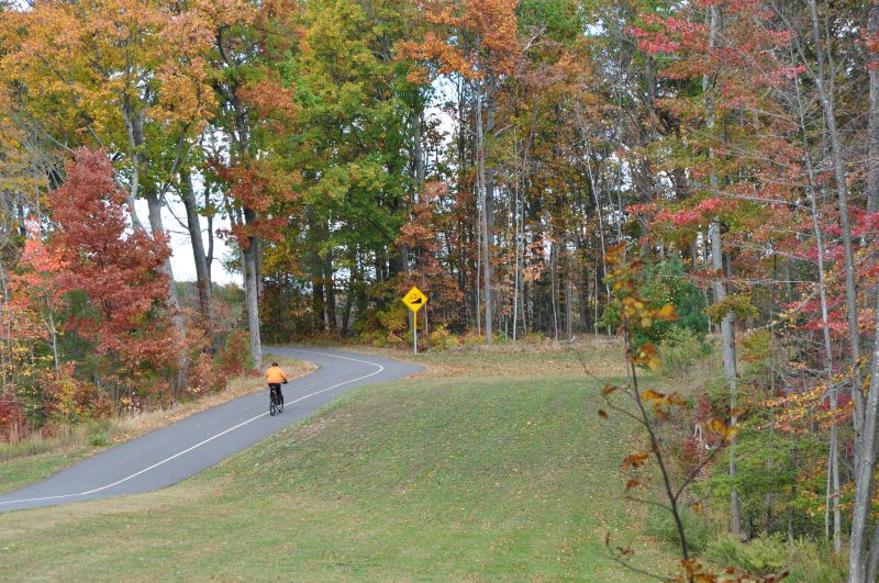 Cycling hiking west hartford reservoir