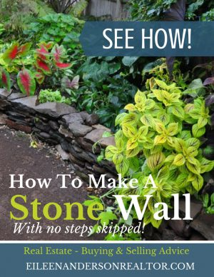How to make a stone wall with no steps skipped!