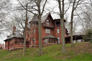 Mark Twain House, Hartford, CT.