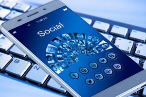 Mobile Phone Social Media Marketing