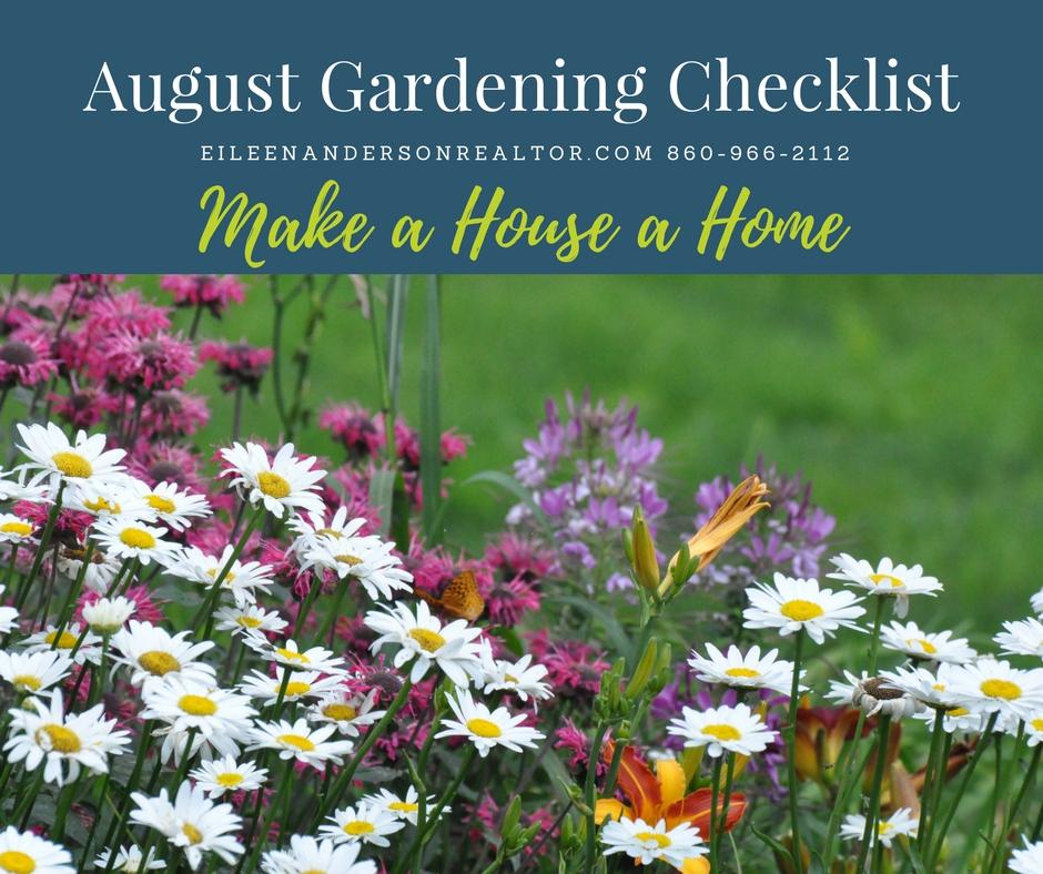 August Gardening Checklist