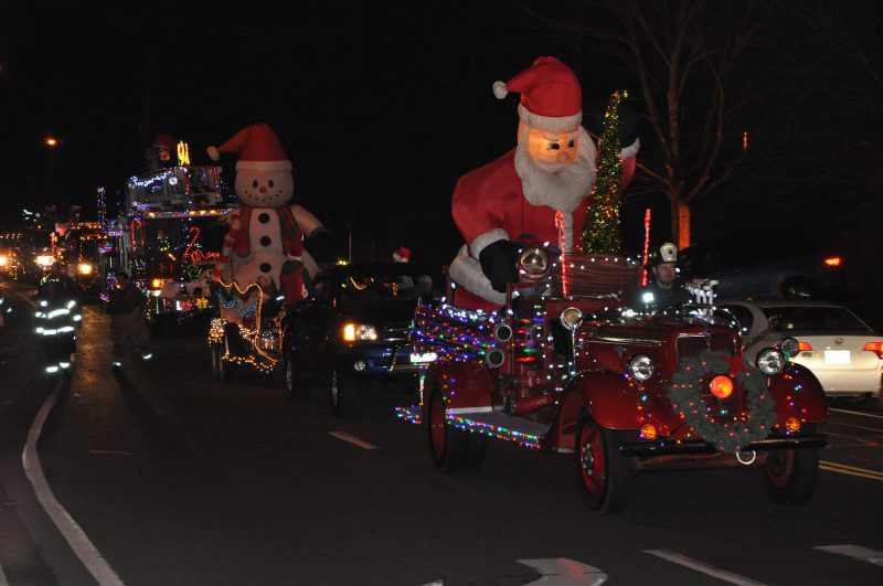 Holiday Fire Truck Parade