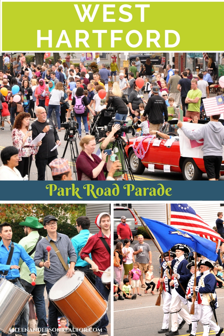 Things to do with kids, West Hartford, park road parade, realtor west hartford, Conard High school marching band, Sedgwick marching band, west hartford ct