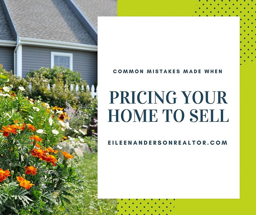 Common Mistakes Made When Pricing Home to Sell, Real estate sales, home pricing mistakes, how to price your home to sell, Simsbury, CT,