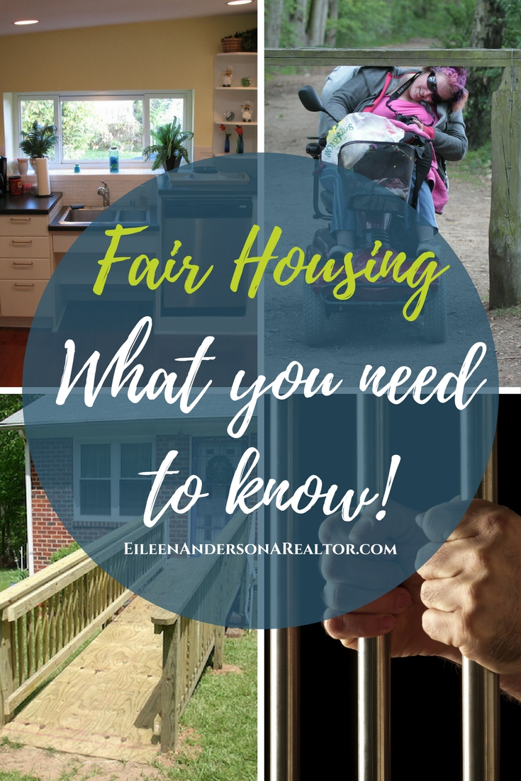 Fair Housing and Reasonable Accommodation -Fair housing, laws, discrimination, protected classes. What all realtors and landlords need to know!
