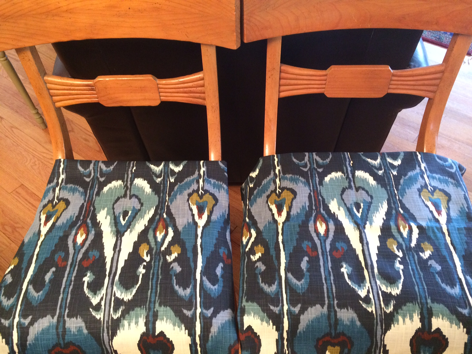 Fabic Patterns Match Chairs (2)
