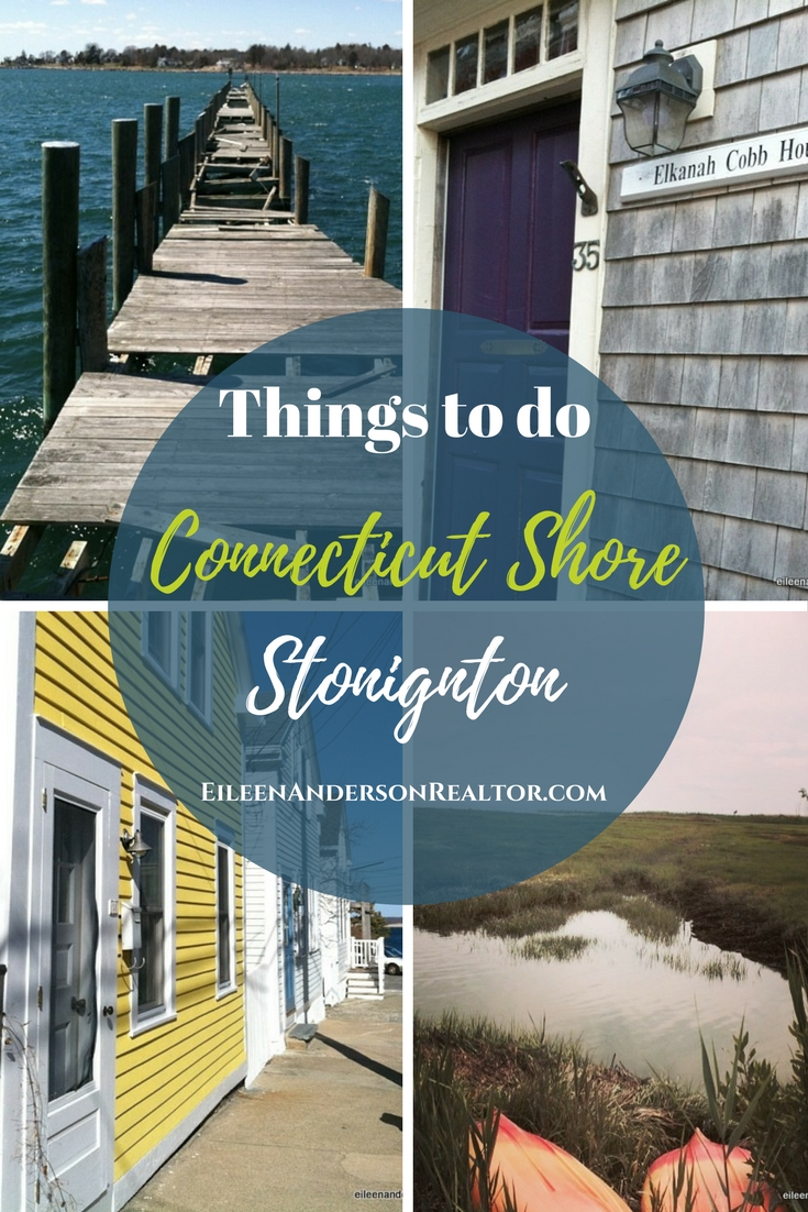Things to do in Stonington CT, Stoningnton Borough, shops, restaurants, swimming.