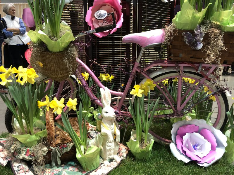 Easter Display Connecticut Flower and Garden Show.