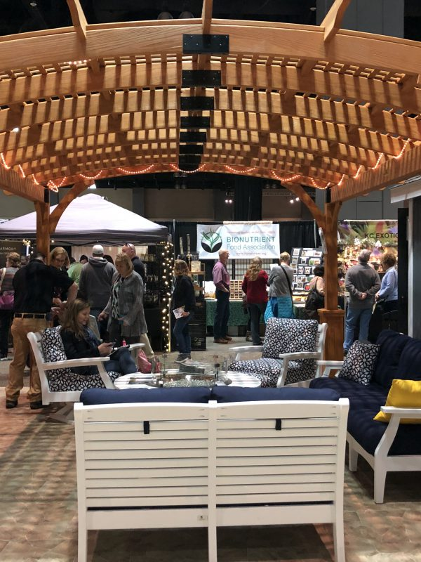 Connecticut Flower Show - Arbor and furniture