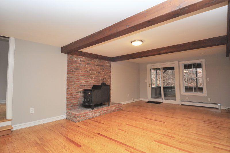 Den - family room opens to kitchen and porch. Open Floor plan.
