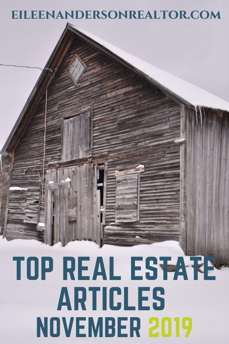 Top Real Estate Articles November 2019