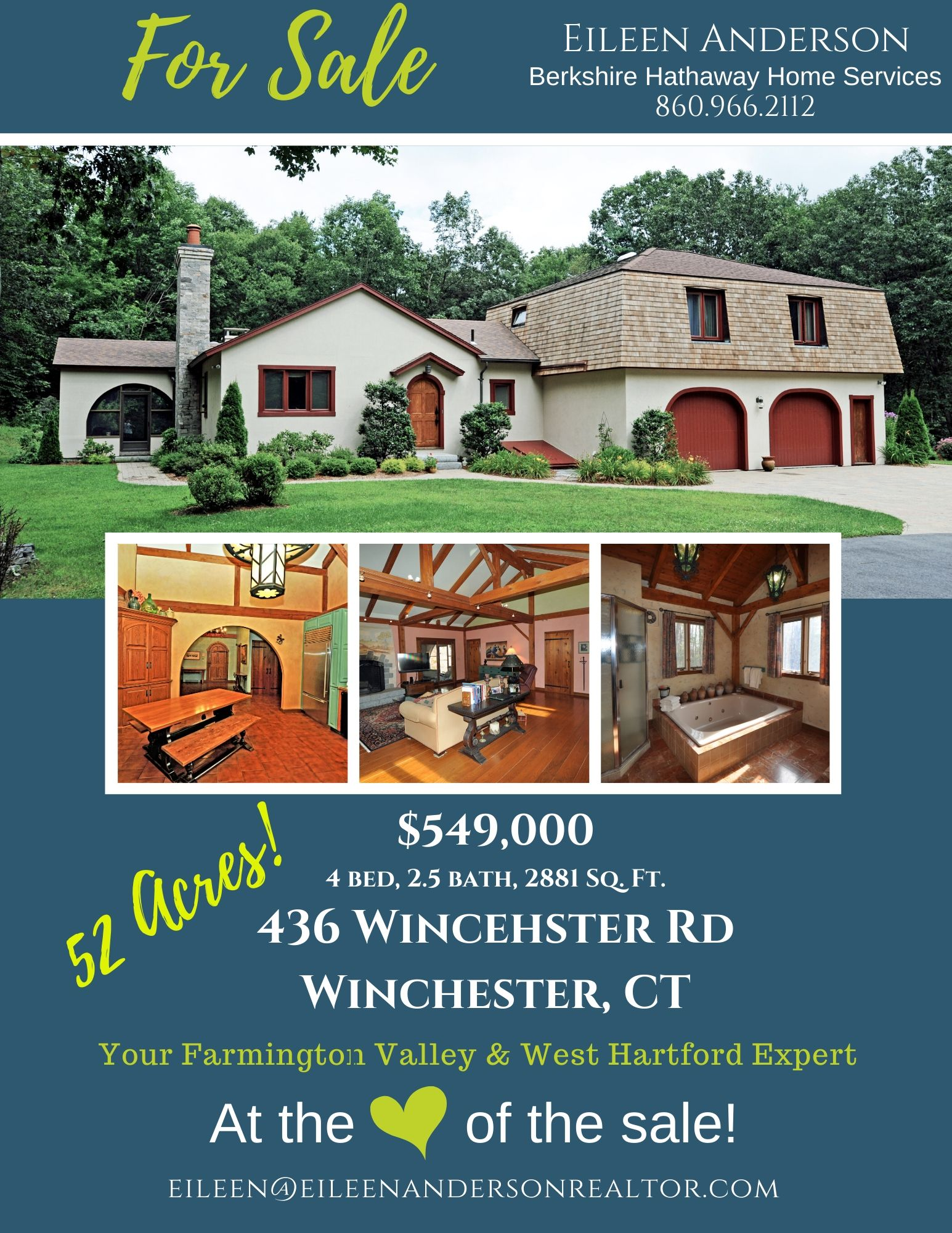 52 acres for sale winchester