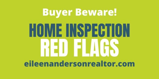 Home Inspections. Look out for Red Flags