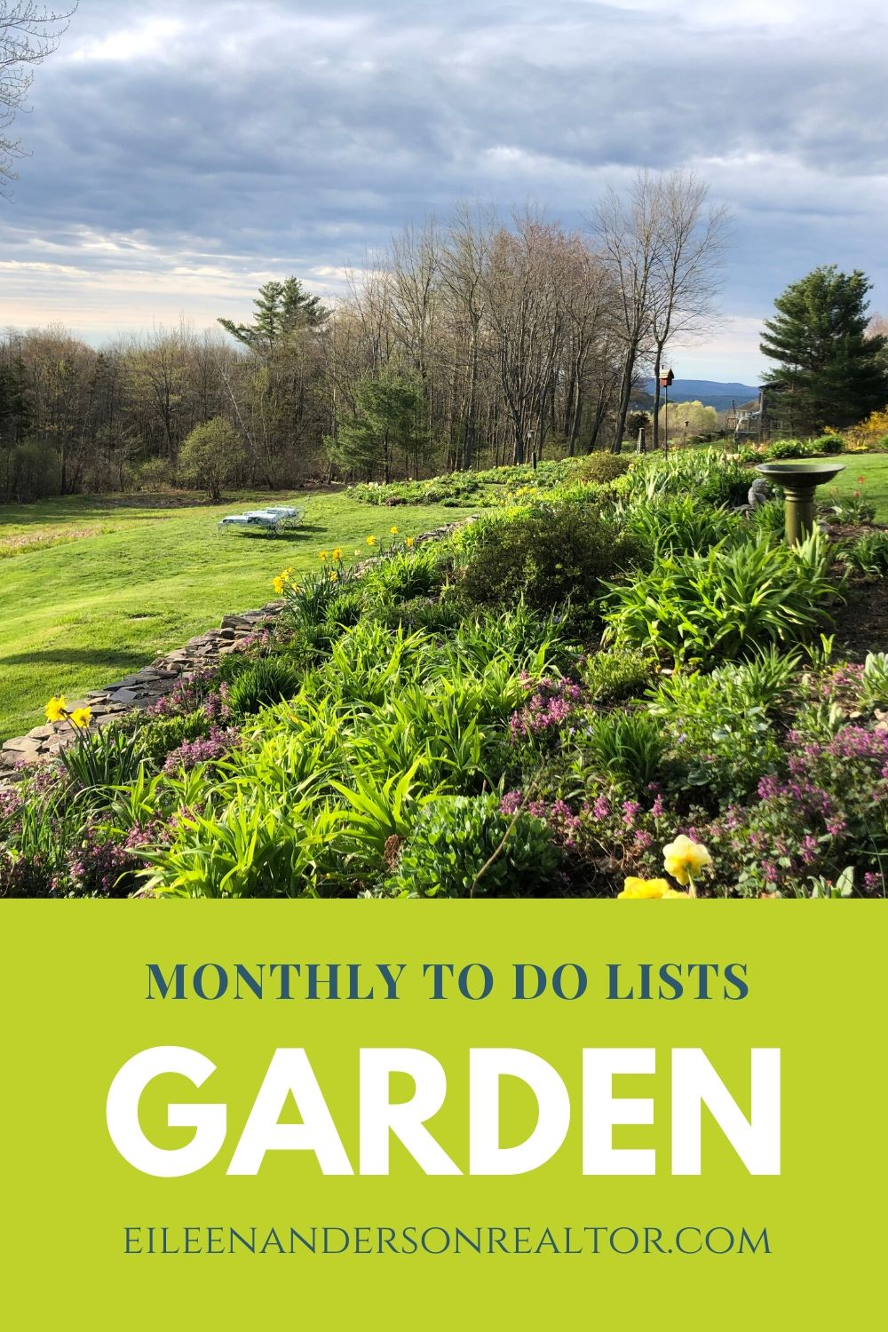 Monthy Gardening Ideas and to-do checklists
