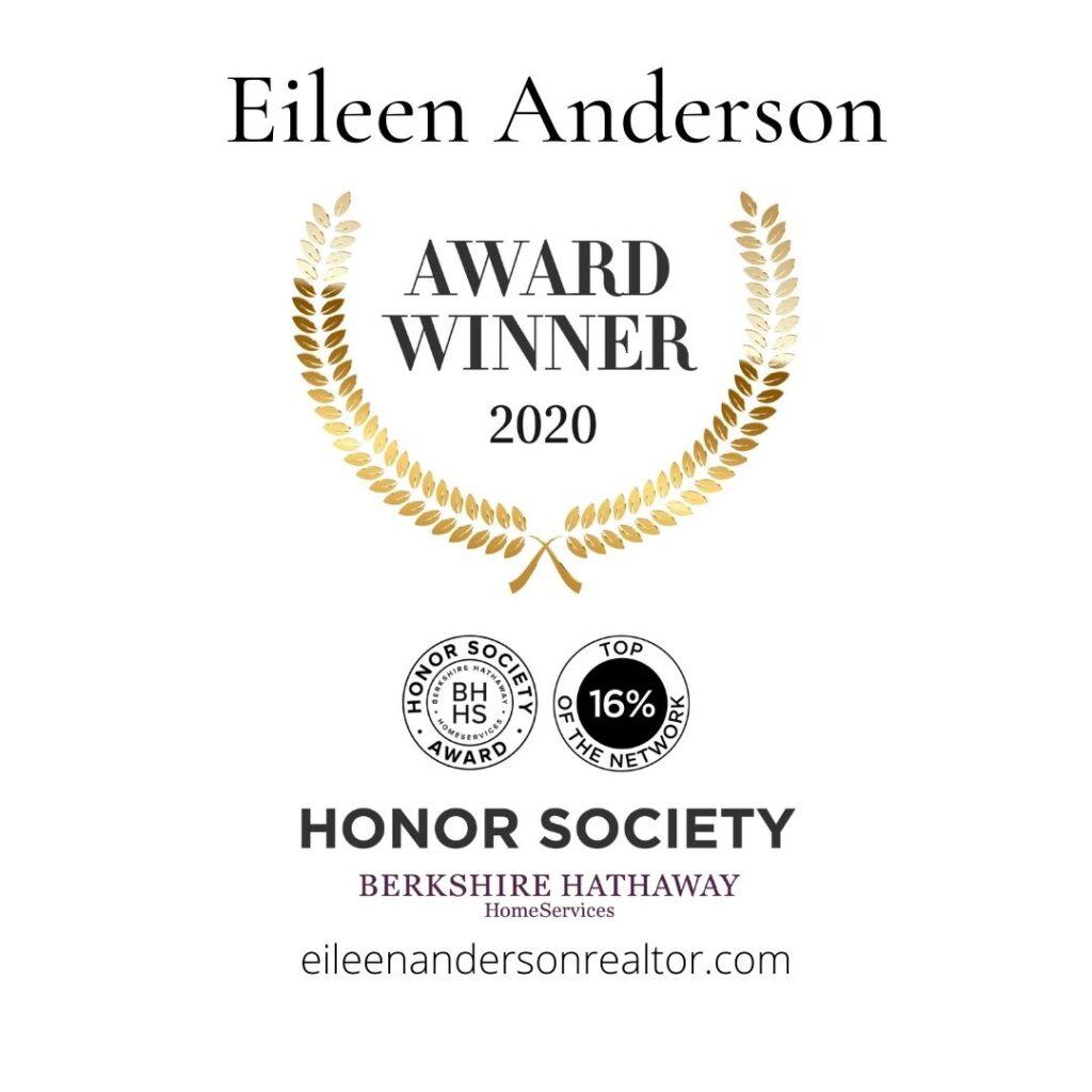 honor society award eileen anderson
