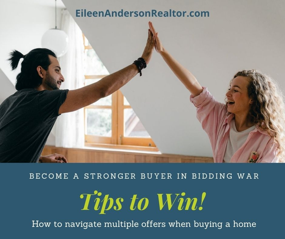 Tips on navigating multiple offers when buying a home. Be a stronger buyer with this advice.